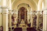 Interiér kostela sv. Bartoloměje