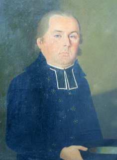 Antonín Josef Pschor, farářem 1775 – 1801. Obraz. Foto F. John